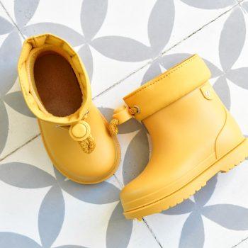 Bota de Agua IgorShoes Bimbi Euri Amarillo Kids