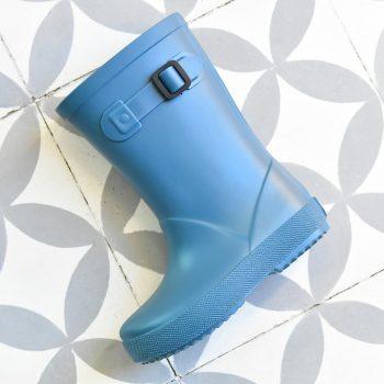 Bota de Agua IgorShoes Splash Monocolor Petróleo Kids
