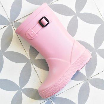 Bota de Agua IgorShoes Splash Monocolor Rosa Kids