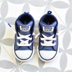 Botín Converse All Star Street Piel Azul Elástico Kids